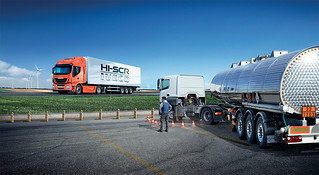 Truck without active regeneration | by IVECO