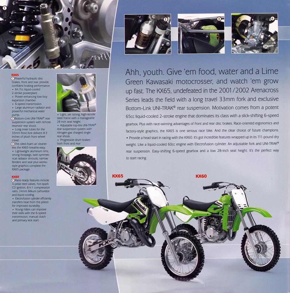 Fabulous 2003 Kawasaki Kx Brochure Page 8 Tony Blazier Flickr Creativecarmelina Interior Chair Design Creativecarmelinacom