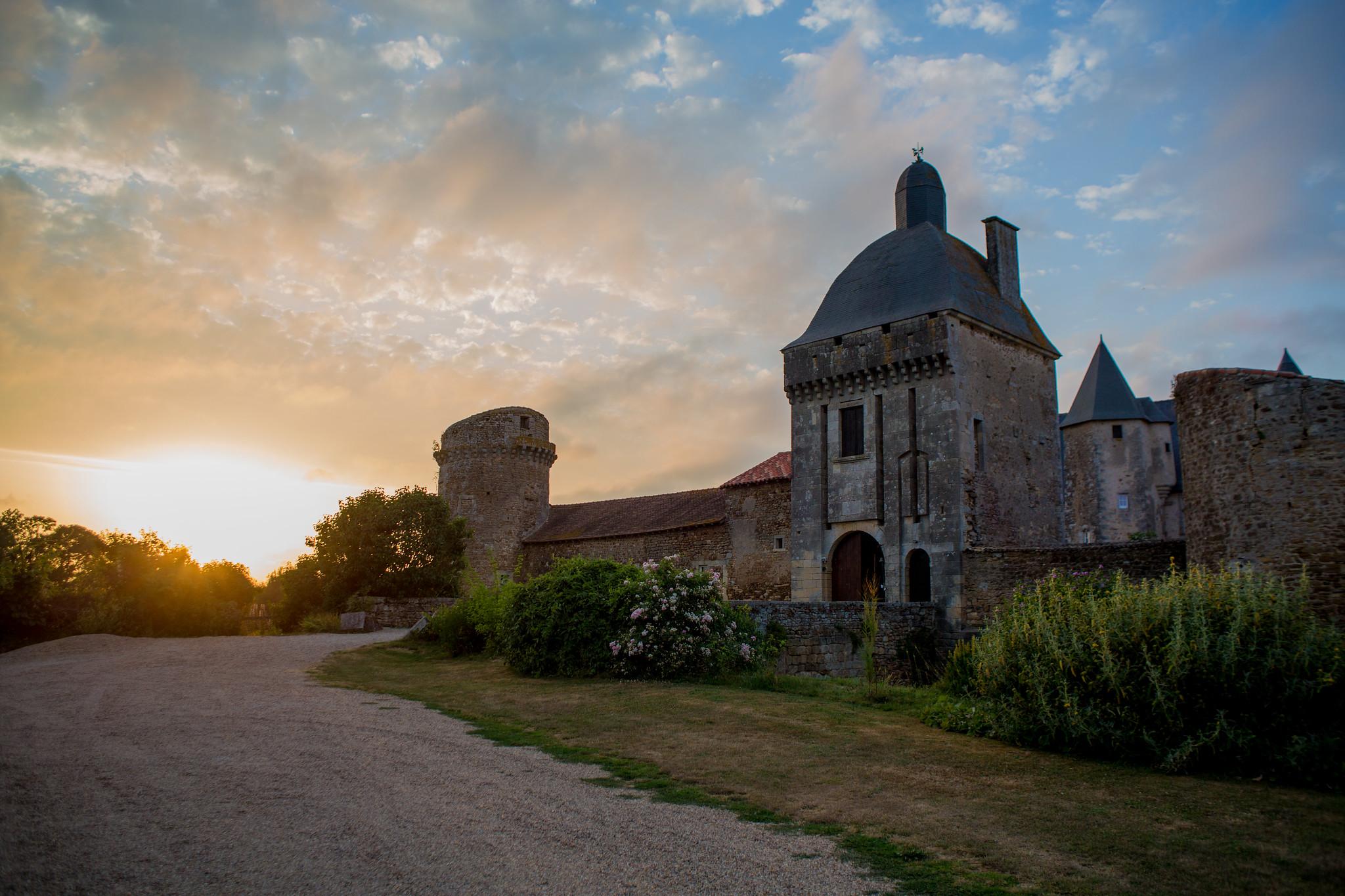 Château de Marconnay Sunset