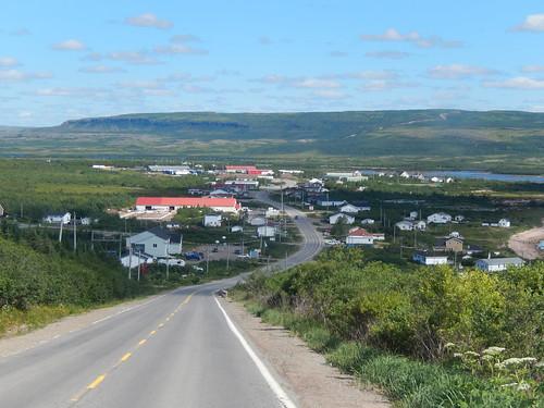 Labrador coastal drive - dorp