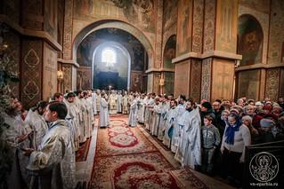 Литургия в Софийском соборе 760