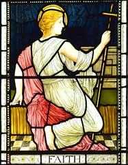 Faith by Henry Holiday, 1882