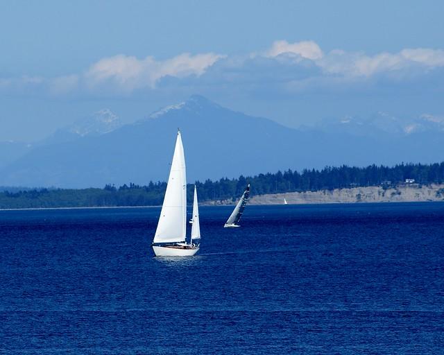 Admiralty Inlet Puget Sound, Washington