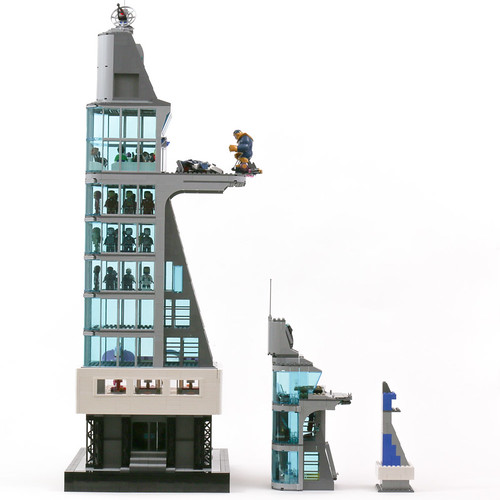 Stark Tower - models | by Gzu's Bricks