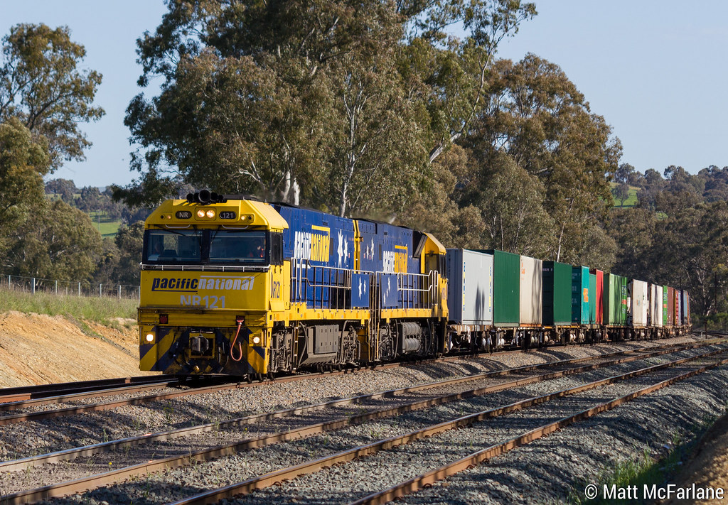 7MS4 Pacific National Intermodal by Matt McFarlane