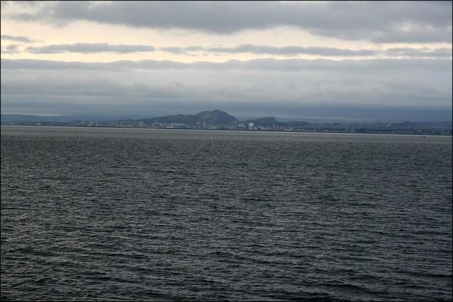 Edinburgh from Burntisland