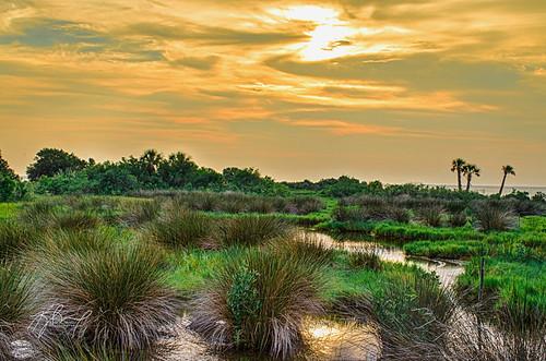 sunset unitedstates florida marsh hdr highdynamicrange crystalriver thephotographyblog