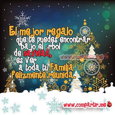 Frases El Mejor Regalo De Navidad.Imagenes Para Compartir Tarjetas Virtuales Con Frases Bon