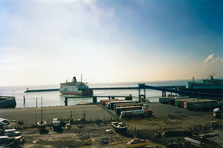 Waiting for ferry to France
