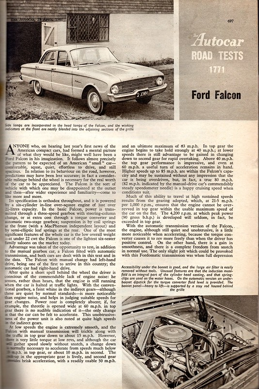 Ford Falcon Road Test 1960 (1)