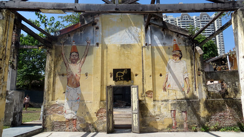 Street art exhibit, George Town, Malaysia, Jan 2014 | by Where Is Your Toothbrush?