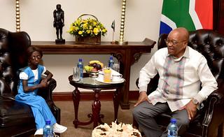 President Jacob Zuma receives a courtesy call from Ms Ontlametse Phalatse, 23 Mar 2017 | by GovernmentZA