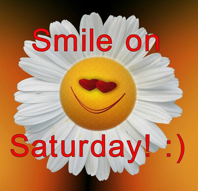 Smile on Saturday! :)