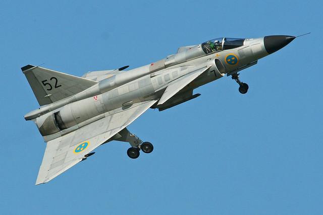 Saab AJS-37 Viggen '37098 / 52' (SE-DXN)