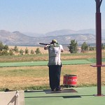 Derek Burnett shooting a clean round