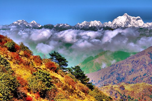Autumn in The Himalayas [Explored]