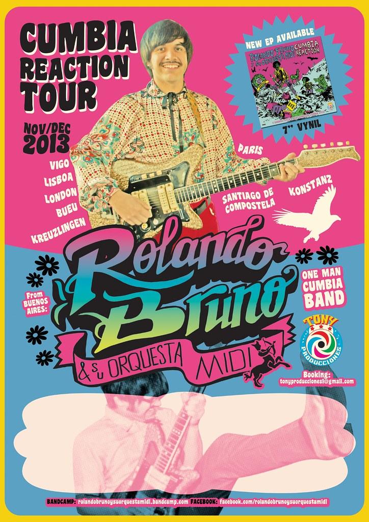 Rolando Bruno y su Orquesta MIDI - Cumbia Reaction Tour PO… | Flickr
