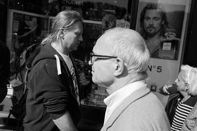 Faces of Rue de Rivoli, Paris, #3