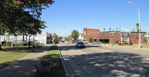oklahoma ok downtowns haskellcounty stigler northamerica unitedstates us