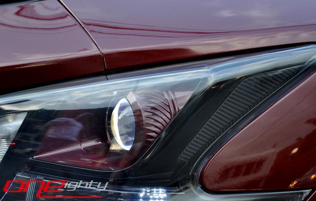 Custom Nissan Maxima >> Nissan Maxima Custom Headlights Oneightynyc Flickr
