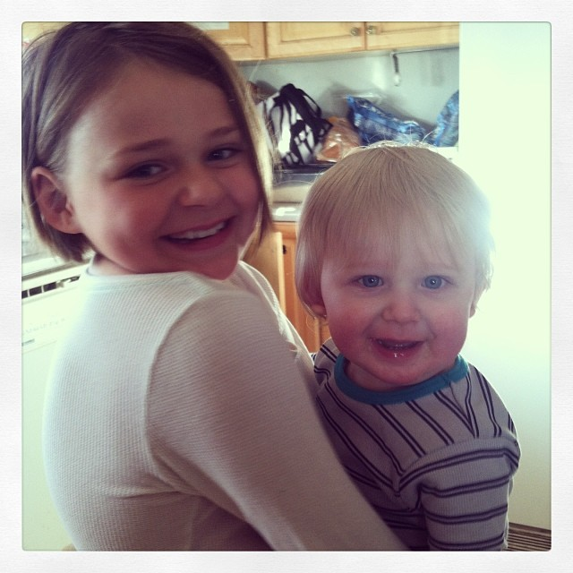 I'm such a lucky mama!