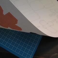 โมเดลกระดาษแมวบ้อง 002