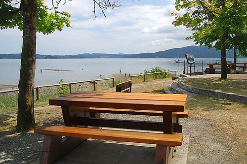 Bamberton Provincial Park, Mill Bay, Vancouver Island, British Columbia, Canada