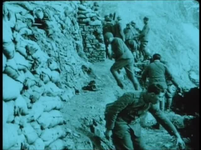 1918 Italienske Tropper i Alperne