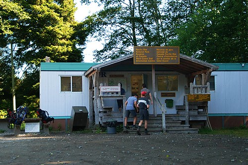 Pachena Trailhead in Bamfield, West Coast Trail, Pacific Rim National Park, Vancouver Island, British Columbia, Canada