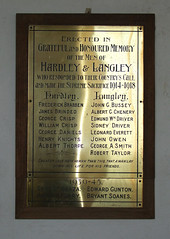 the men of Hardley and Langley