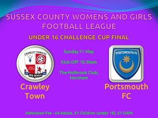 SCWGFL Cup Final Poster 2014 (Under 16) | by SCWGFL