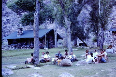 PR1 Students resting at Phantom Ranch 004
