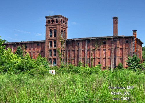 newry south carolina textile mill upstate cotton factory courtenay oconee co vanishing southern landscape nostalgia vintage america small town disappearing