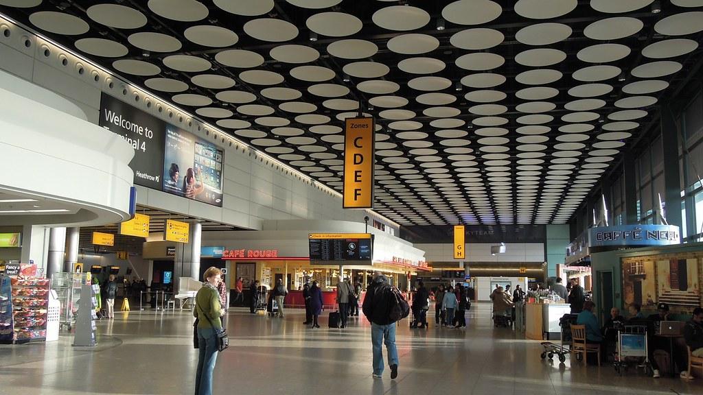 Departures level, Terminal 4, London Heathrow Airport, UK | Flickr