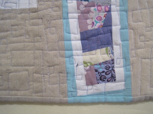 Soft Splinters Quilt run off binding | by Sew Katie Did