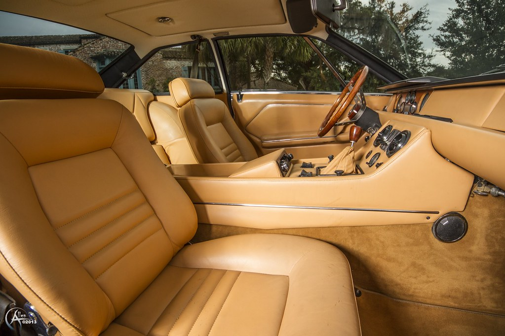 1972 Lamborghini Jarama 400 Gt Interior Photographed For R Flickr