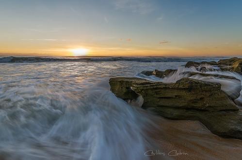 sea beach sunrise florida atlantic marineland palmcoast