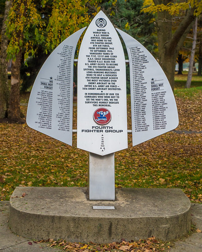 Memorial to Fourth Fighter Group