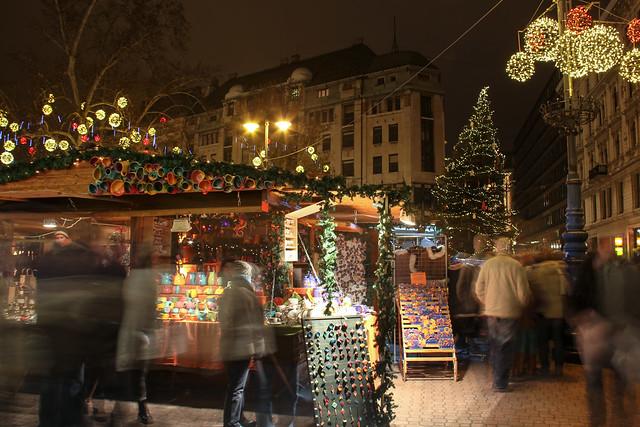 #Flickr12Days - Christmas Market on Vorosmarty Square 2013 - 1