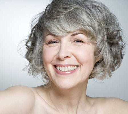 short haircuts for thin hair over 60