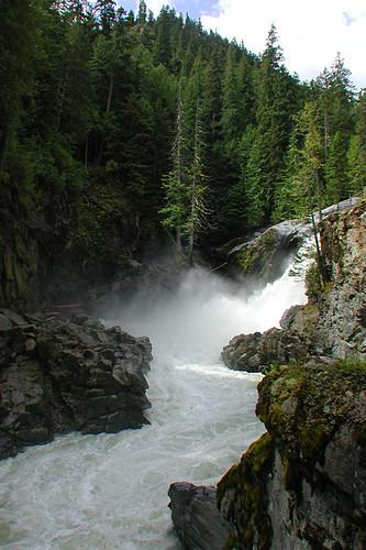 Nairn Falls Park, Pemberton, Sea to Sky Highway, British Columbia, Canada