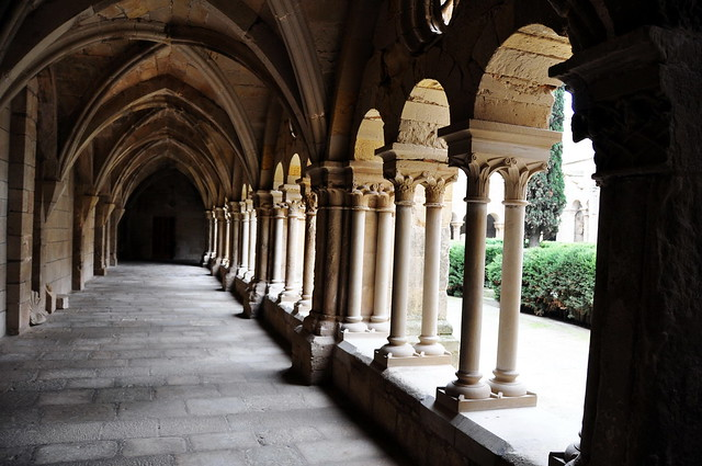 303 - Galería del Claustro - Real Monasterio Santa María de Vallbona - Vallbona de les Monges - L' Urgell (Lleida) - Spain.