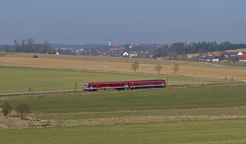 deutschebahn sbahn bahn altomünster sbahnmünchen bockerl baureihe628 nebenbahn liniea bachern bummerl kbs99930 ludwigthomabahn 628574