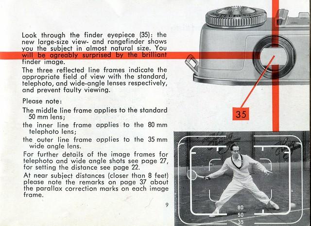 Kodak Retina IIIC - Instructions For Use - Page 9