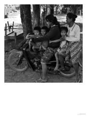 motorbike, Dong Kohn, Laos