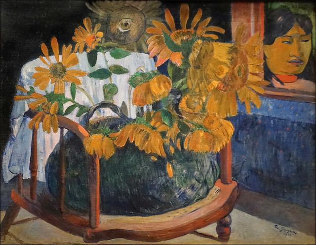 Tournesols de Paul Gauguin (Fondation Louis Vuitton, Paris)