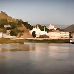Ayeyarwady River impression between Mandalay and Bagan