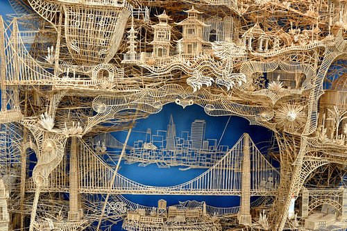 SF in Toothpicks