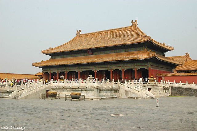 Ciudad Prohibida - Palacio de la Pureza Celestial - Beijing