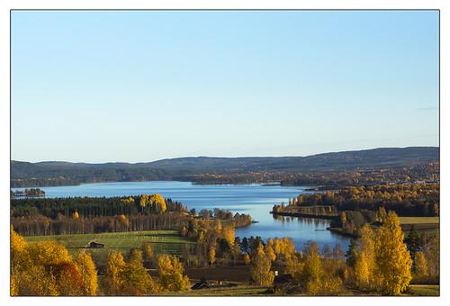 autumn fall sweden leksand dalecarlia